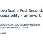 RPI Developing Evaluation Plan for the Nova Scotia Post-secondary Accessibility Framework